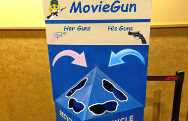 NRA Solves Theater Shootings With MovieGun